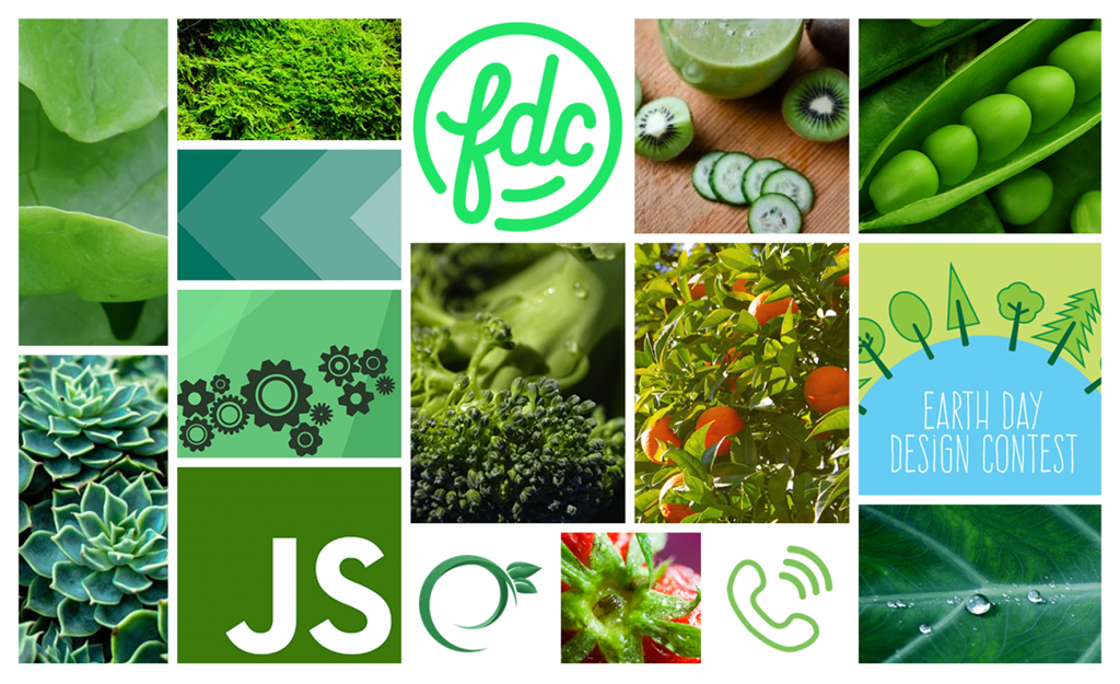 Image of Earthy and Green Moodboard for LiquidLab