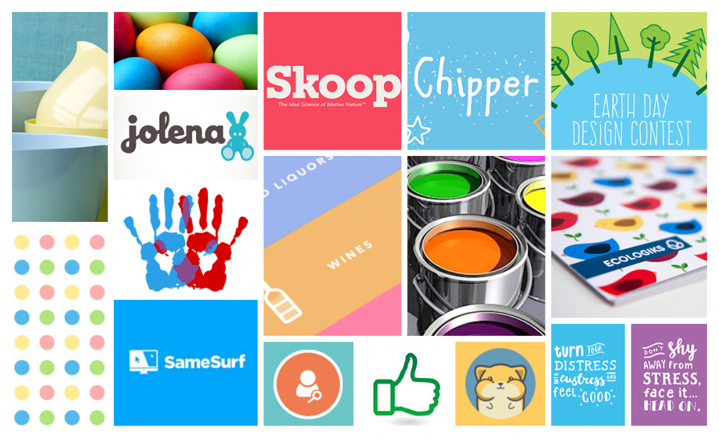 Image of Friendly and Approachable Moodboard for LiquidLab