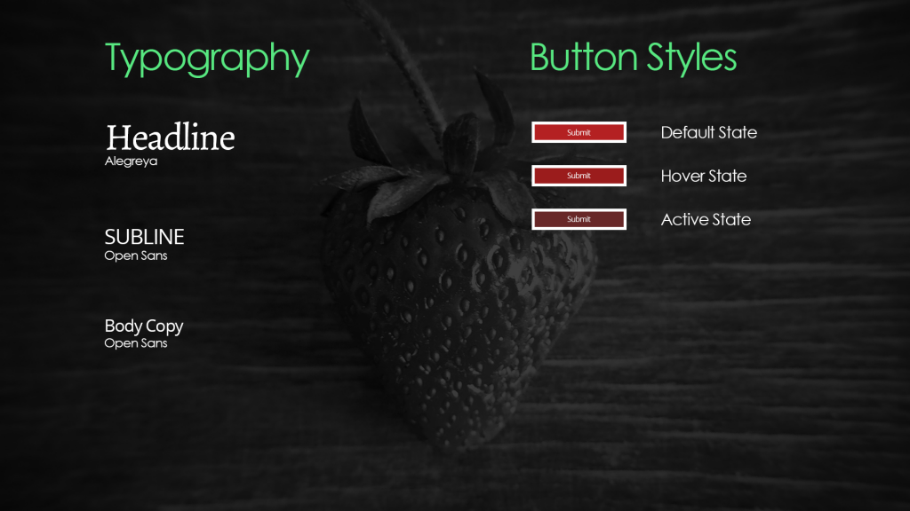 Image of Typography and Button Styles for LiquidLab